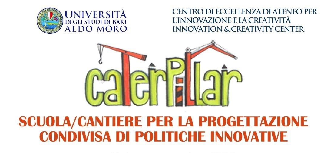 """""""Caterpillar"""": Scuola/Cantiere per a progettazione condivisa di politiche innovative"""